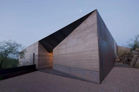 Wendell Burnette, Desert Courtyard House