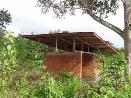 Karolina and Wayne Switzer, African Mud Hut