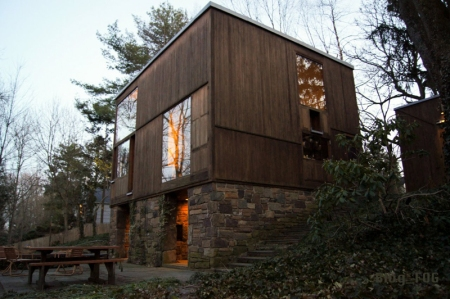 Louis Kahn, Fisher House, Hatboro, Pa