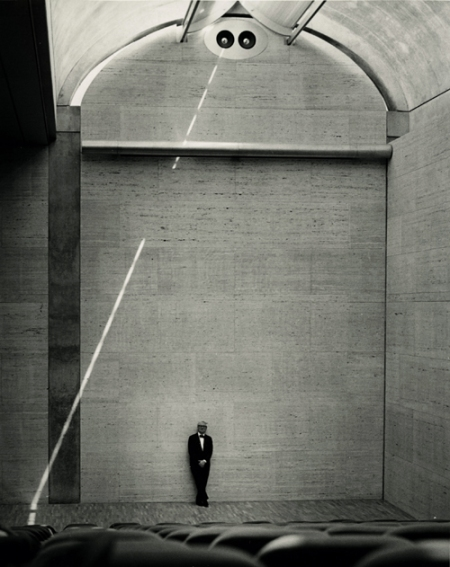 Louis Kahn at the Kimball Museum, Ft. Worth