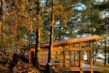 Osburn Clarke - cabin, B.C.